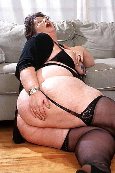 Fat Ass Granny Porn