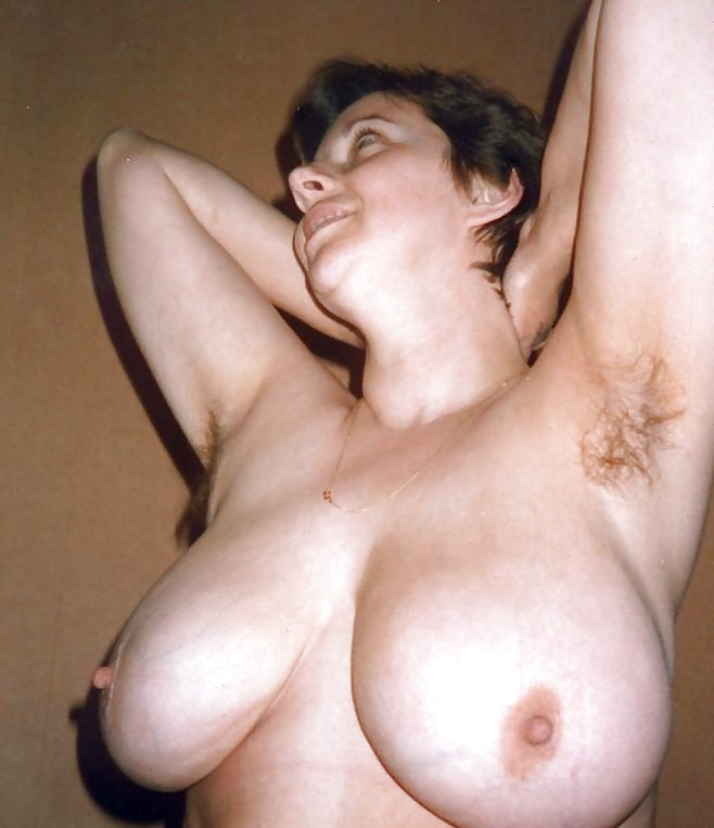 Big boobs hairy pits