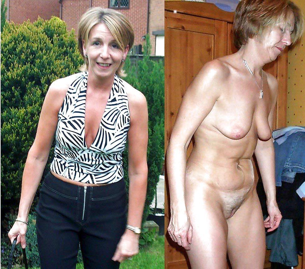 skinny dressed undressed